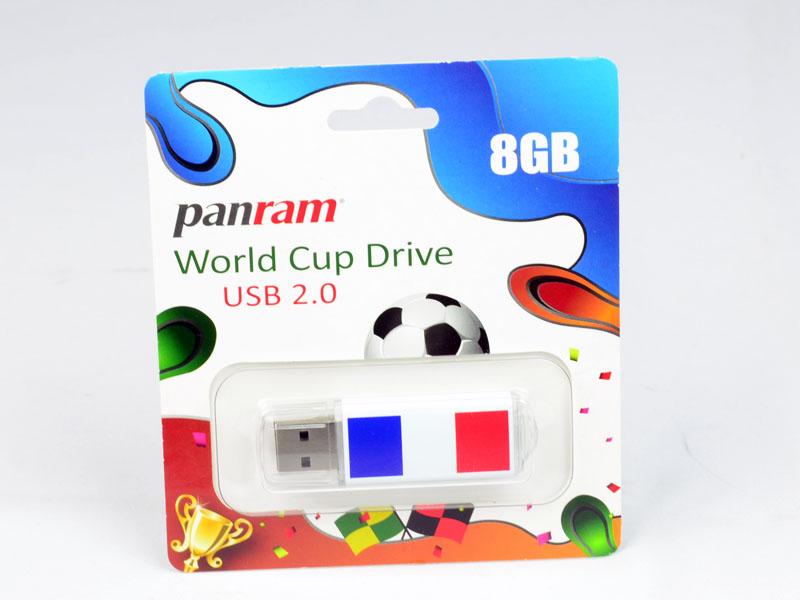 [XF] 跟上熱潮瘋世足!Panram 品安「世界杯紀念隨身碟」 開箱測試