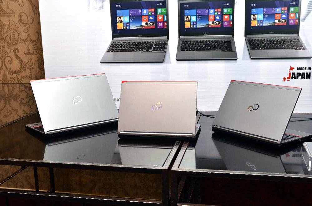 富士通推LIFEBOOK新品「純、輕量、零角度」思維、日本製造 搶攻商務筆電市場