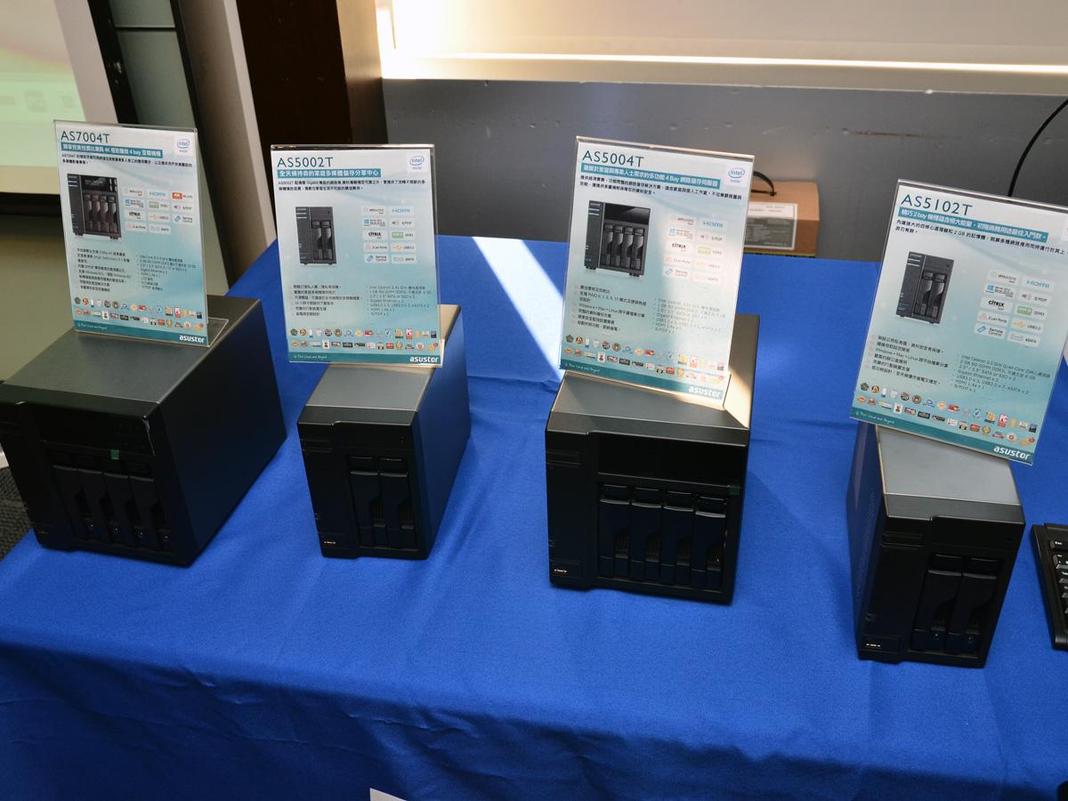 ASUSTOR 華芸科技推新款NAS 主打超高性價比 帶來效能提升 更多功能!