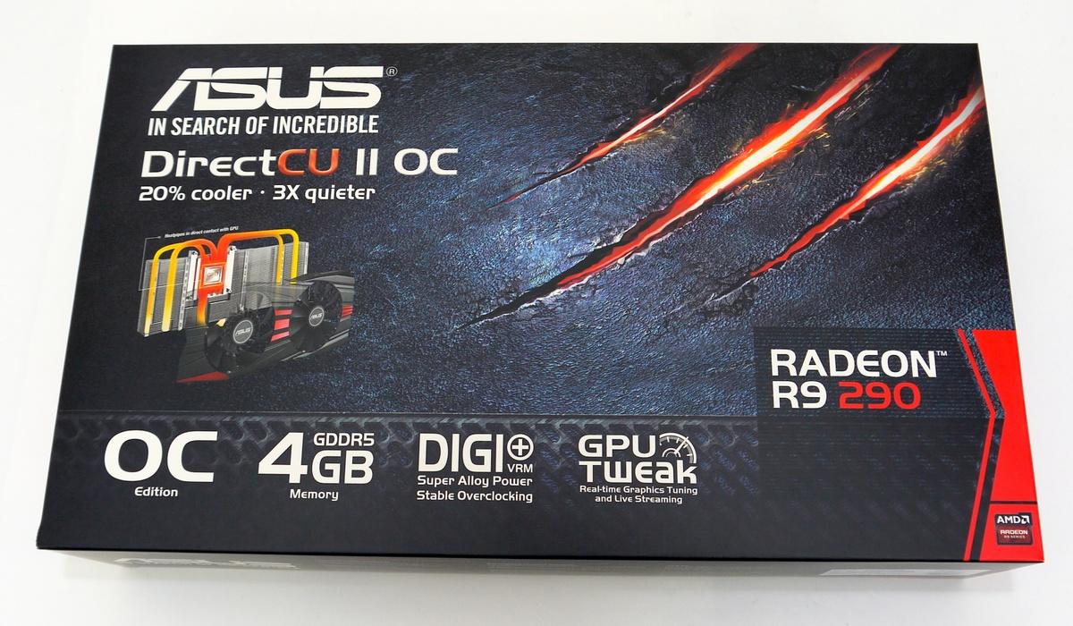 [XF] 威風堂堂,雙風扇升級強勢登場 ASUS R9 290 DirectCU II OC 4GB