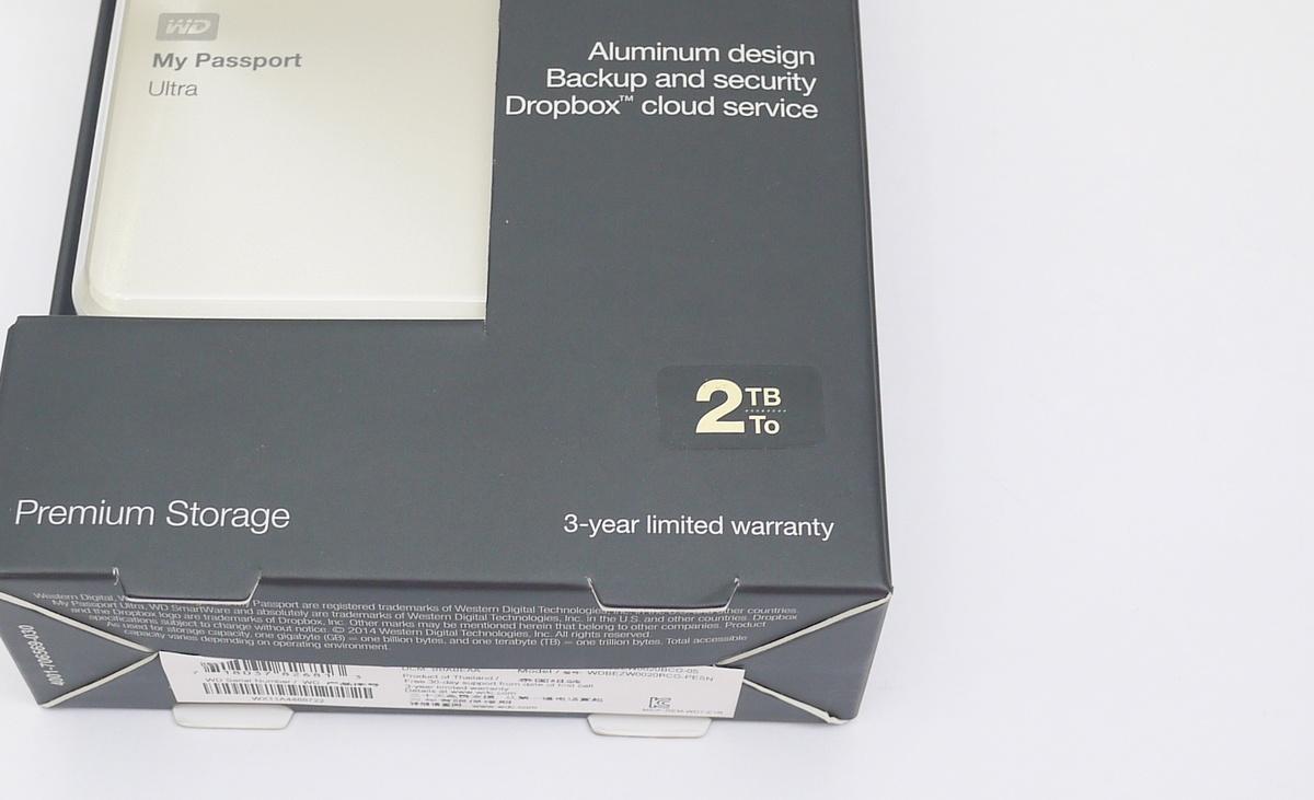 [XF] 經典淬鍊 WD My Passport Ultra 2TB 10 周年紀念版行動硬碟
