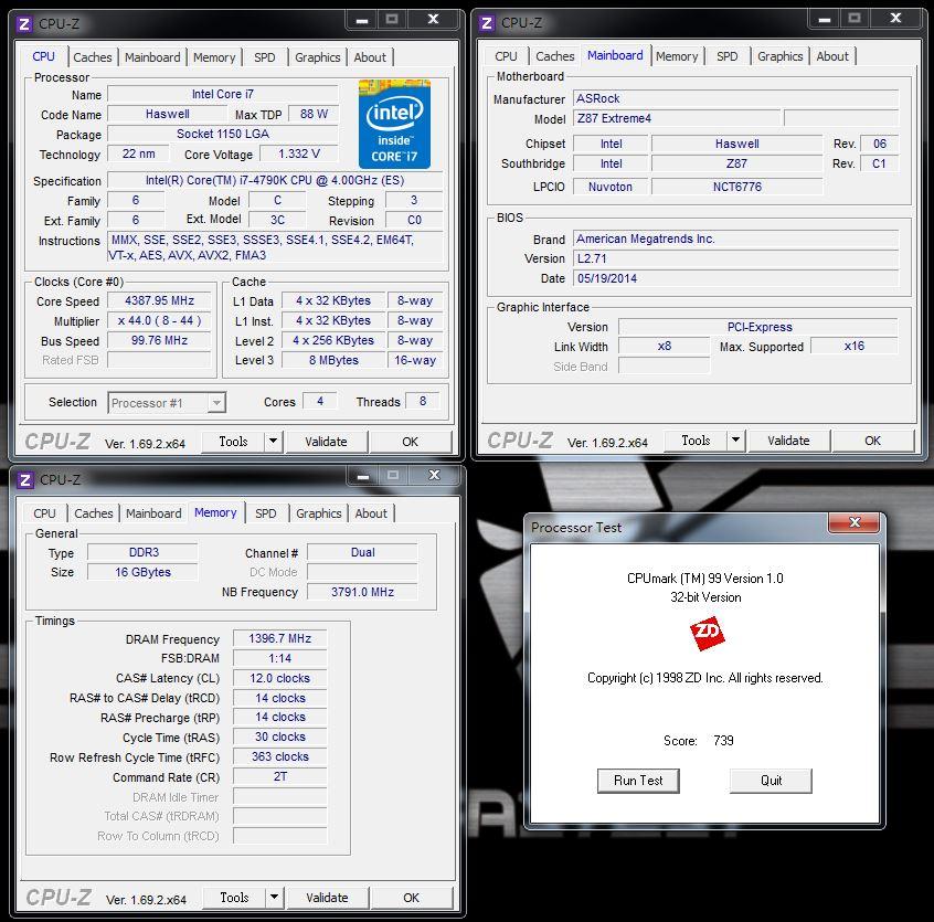 [XF] 極致玩家效能逸品-第四代Intel Core i7-4790K評測