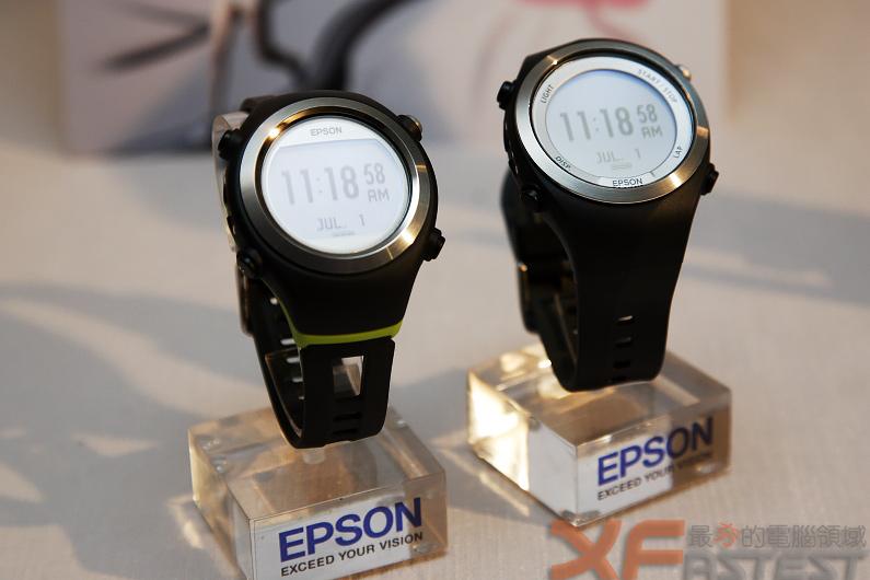 Epson再為路跑愛好者推出新一代GPS運動智慧表Runsense