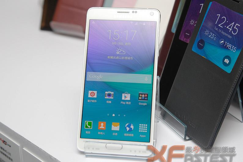 強化S-Pen並擁有更高解析度的Samsung GALAXY Note 4