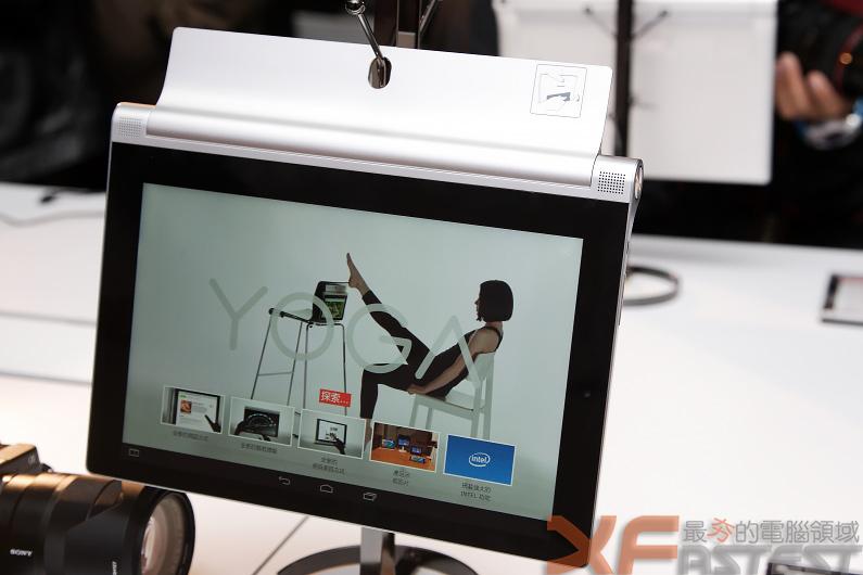 聯想Yoga平板家族提供新的使用模式並有內建微形投影的機種