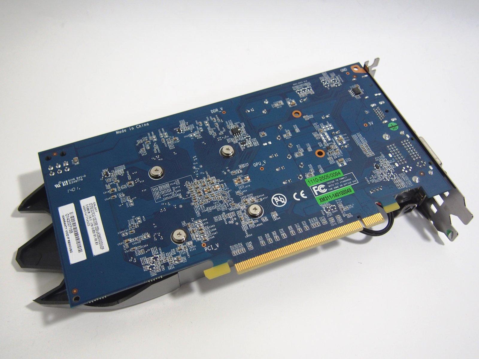 [XF] 中階卡對戰神兵泰坦 Galaxy 影馳 GeForce GTX 750 GC 1GB