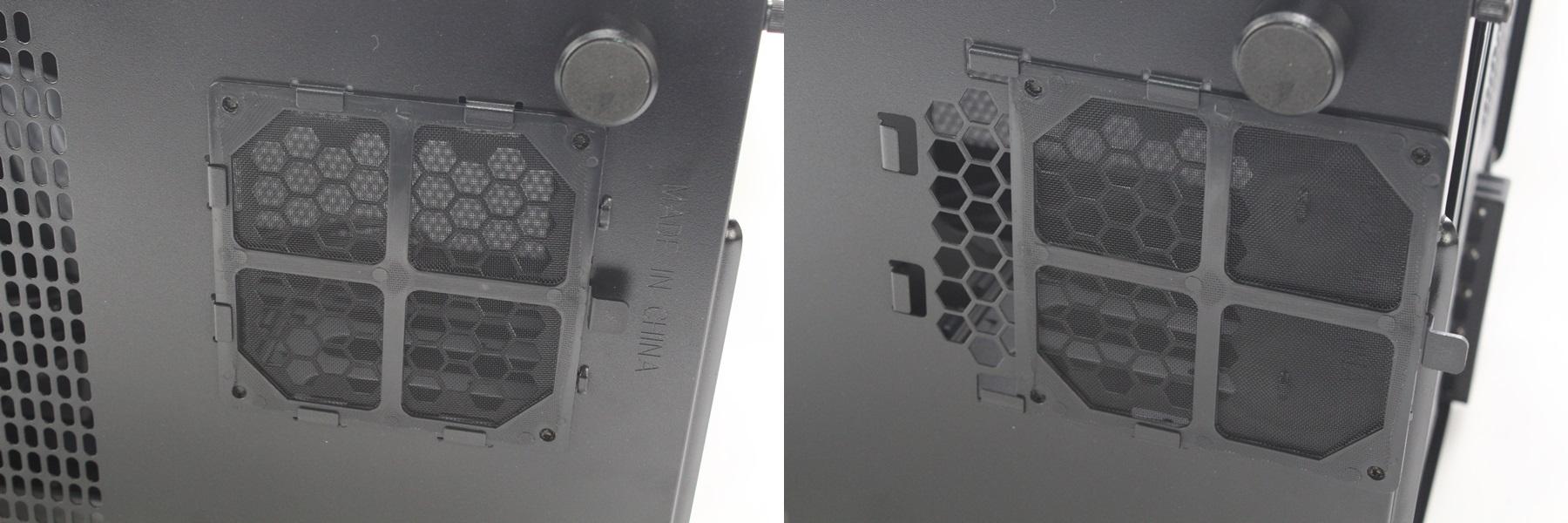 曜越Core V21 平躺式機殼前置I/O左右換,水冷安裝也OK